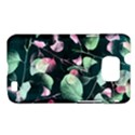 Modern Green And Pink Leaves Samsung Galaxy S II i9100 Hardshell Case (PC+Silicone) View1