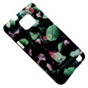 Modern Green And Pink Leaves Samsung Galaxy S II i9100 Hardshell Case (PC+Silicone) View5