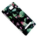 Modern Green And Pink Leaves HTC 8S Hardshell Case View5
