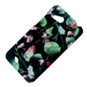 Modern Green And Pink Leaves HTC Desire VC (T328D) Hardshell Case View4