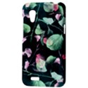 Modern Green And Pink Leaves HTC Desire VT (T328T) Hardshell Case View3