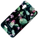 Modern Green And Pink Leaves HTC Desire VT (T328T) Hardshell Case View4