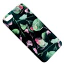 Modern Green And Pink Leaves Apple iPhone 5 Hardshell Case with Stand View5