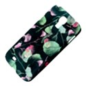 Modern Green And Pink Leaves Samsung Galaxy S4 I9500/I9505 Hardshell Case View4