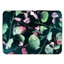 Modern Green And Pink Leaves Samsung Galaxy Tab 3 (10.1 ) P5200 Hardshell Case  View1