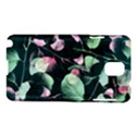 Modern Green And Pink Leaves Samsung Galaxy Note 3 N9005 Hardshell Case View1