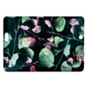 Modern Green And Pink Leaves Amazon Kindle Fire HD (2013) Hardshell Case View1