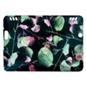 Modern Green And Pink Leaves Kindle Fire HDX Hardshell Case View1