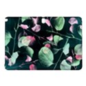 Modern Green And Pink Leaves Samsung Galaxy Tab Pro 10.1 Hardshell Case View1