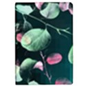 Modern Green And Pink Leaves iPad Mini 2 Flip Cases View1