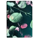 Modern Green And Pink Leaves iPad Air Flip View1