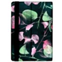 Modern Green And Pink Leaves iPad Air 2 Flip View4