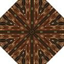 Floral Strings Pattern  Hook Handle Umbrellas (Large) View1