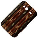 Floral Strings Pattern  HTC Wildfire S A510e Hardshell Case View4