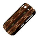 Floral Strings Pattern  HTC Desire S Hardshell Case View4