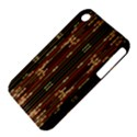 Floral Strings Pattern  Apple iPhone 3G/3GS Hardshell Case (PC+Silicone) View4