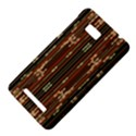 Floral Strings Pattern  HTC One SU T528W Hardshell Case View4