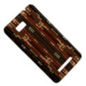 Floral Strings Pattern  HTC One SU T528W Hardshell Case View5