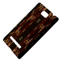 Floral Strings Pattern  HTC 8S Hardshell Case View4
