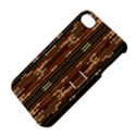 Floral Strings Pattern  Apple iPhone 4/4S Hardshell Case with Stand View4