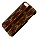 Floral Strings Pattern  Apple iPhone 5 Hardshell Case with Stand View4