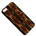 Floral Strings Pattern  Apple iPhone 5 Hardshell Case with Stand View5