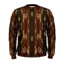 Floral Strings Pattern  Men s Sweatshirt View1