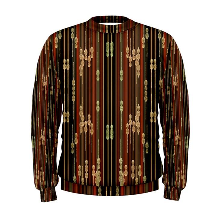 Floral Strings Pattern  Men s Sweatshirt
