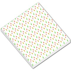 Fruit Pattern Vector Background Small Memo Pads