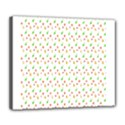 Fruit Pattern Vector Background Deluxe Canvas 24  x 20   View1