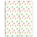 Fruit Pattern Vector Background Apple iPad 2 Flip Case View1