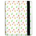 Fruit Pattern Vector Background Apple iPad 2 Flip Case View2