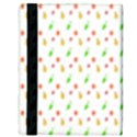 Fruit Pattern Vector Background Apple iPad 2 Flip Case View3