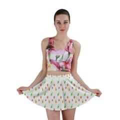 Fruit Pattern Vector Background Mini Skirt