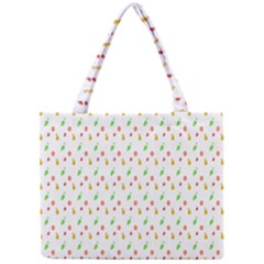 Fruit Pattern Vector Background Mini Tote Bag