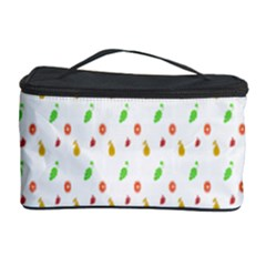 Fruit Pattern Vector Background Cosmetic Storage Case