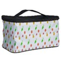 Fruit Pattern Vector Background Cosmetic Storage Case View2