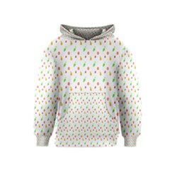 Fruit Pattern Vector Background Kids  Pullover Hoodie