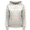 Fruit Pattern Vector Background Women s Pullover Hoodie View1