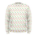 Fruit Pattern Vector Background Men s Sweatshirt View1