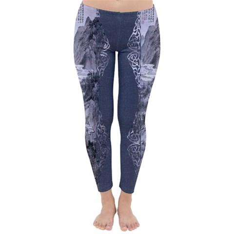 Art Japan Jeans Winter Leggings