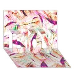 Grass Blades BOY 3D Greeting Card (7x5)