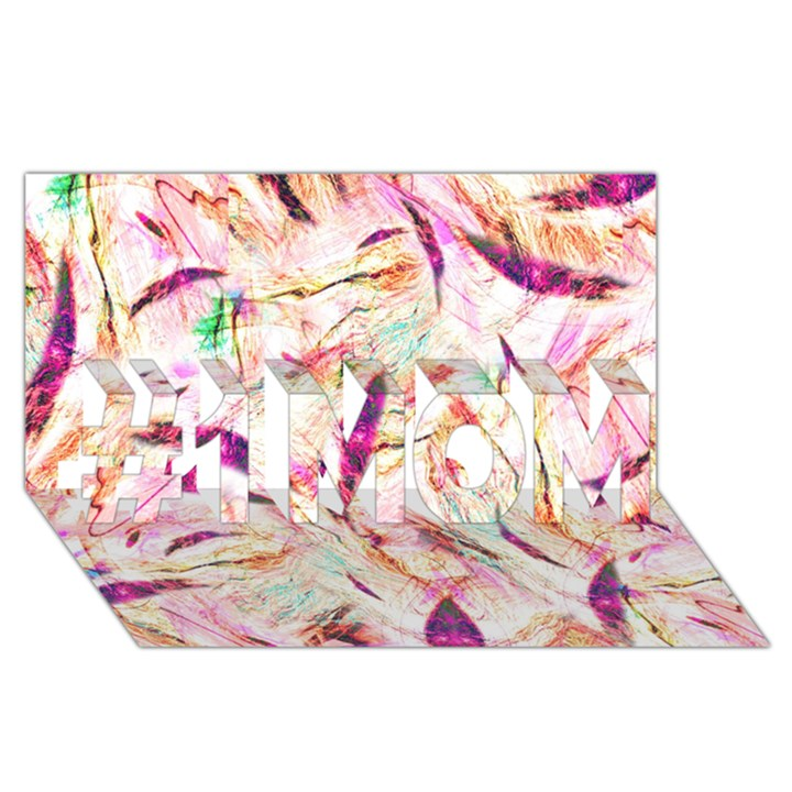 Grass Blades #1 MOM 3D Greeting Cards (8x4)