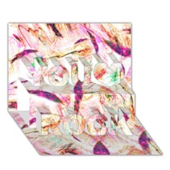 Grass Blades You Rock 3D Greeting Card (7x5)