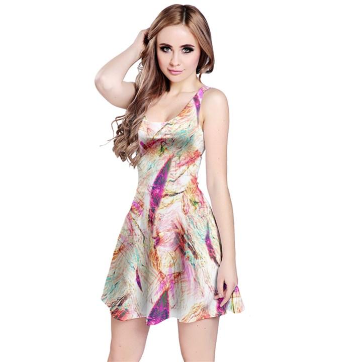 Grass Blades Reversible Sleeveless Dress