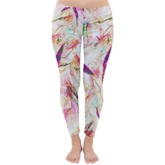 Grass Blades Winter Leggings