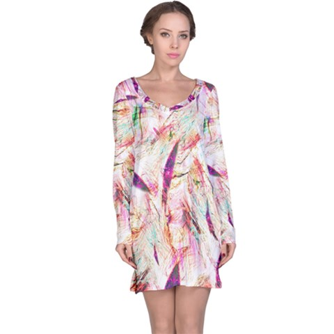 Grass Blades Long Sleeve Nightdress