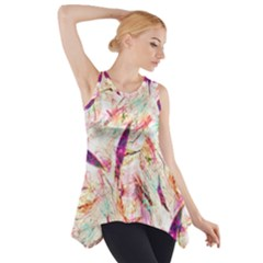 Grass Blades Side Drop Tank Tunic