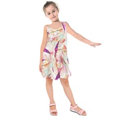 Grass Blades Kids  Sleeveless Dress
