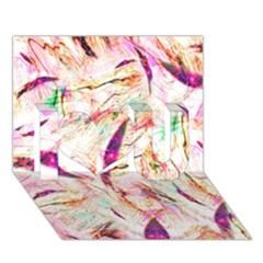 Grass Blades I Love You 3D Greeting Card (7x5)